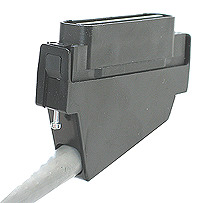 CAT5 110 Degree Male Connector