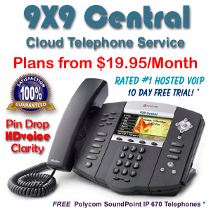9X9 Central is the #1 Rated VoIP Company in the US