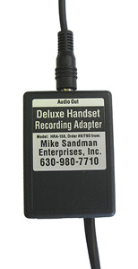Deluxe Handset Recording Adapter