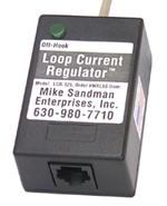 1 Line Modular / Hardwire Loop Current Regulator - Automatically sets the loop current at 25ma - no meter necessary.