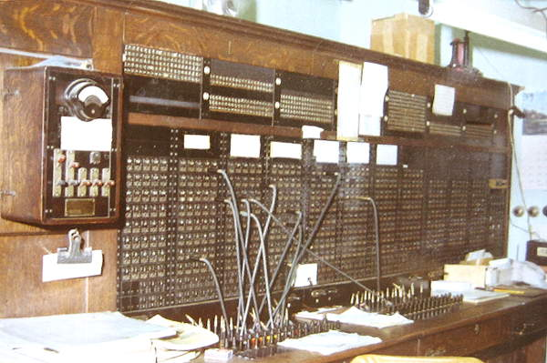 Test Desk on the left of the Switchboard