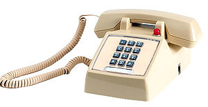 Ivory 2500 Set with Message Waiting and Amplified Handset