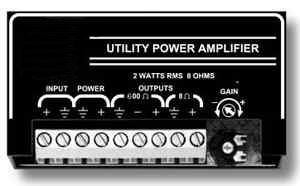 2 Watt Utility Amplifier