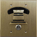Brass Flush Mount Door Box