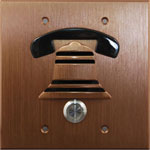 Bronze Flush Mount Door Box - Bell Style