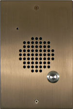 Elongated Bronze Flush Mount Door Box