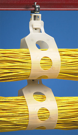 Plastic Cable Support Loop for 5 Inch Bundle