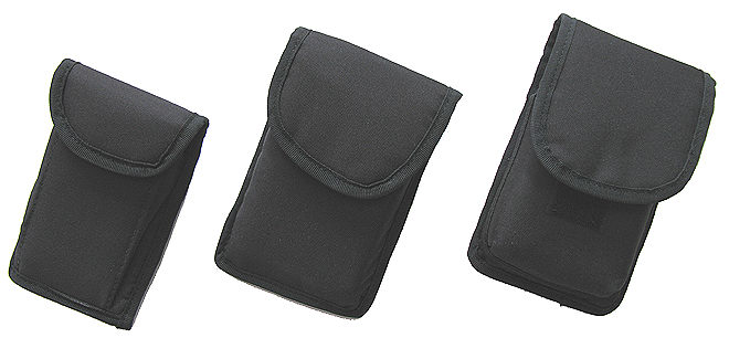 ... Pouches... with Police Style Belt Clip or Belt Loop (on Some Sizes