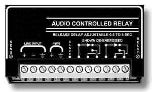Audio Controlled Relay with Delay