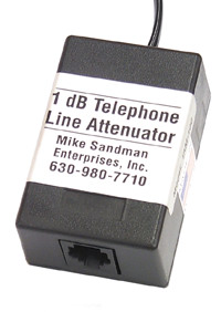 Click to see a bigger picture of the Modular Telephone Line Fixed Value Attenuator