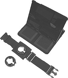 iPad and iPad Mini Cases for Pilots, with Kneeband and RAM Mount Adapter from sandman.com