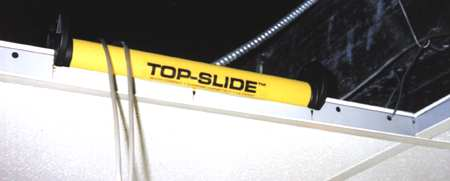 Top-Slide Suspended Ceiling Cable GuideSingle Gang Low Voltage Flush Mount Device